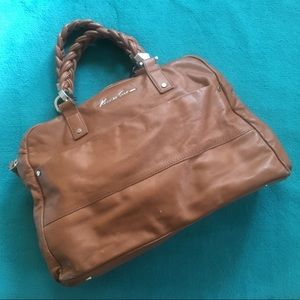 Kenneth Cole Leather Satchel
